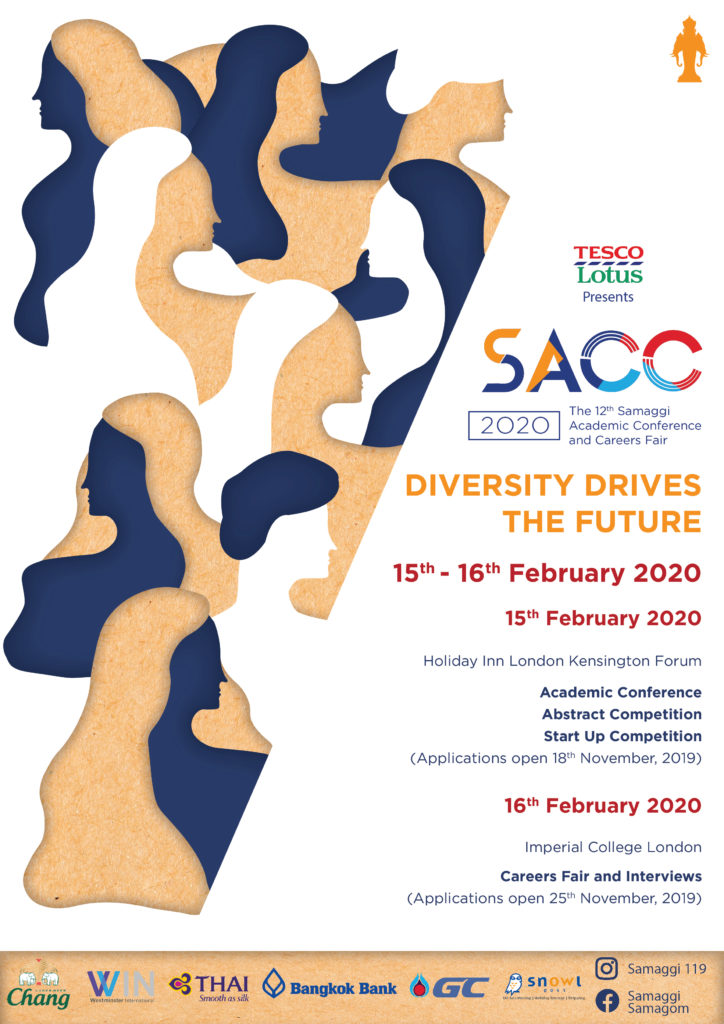 The poster promoting SACC2020
